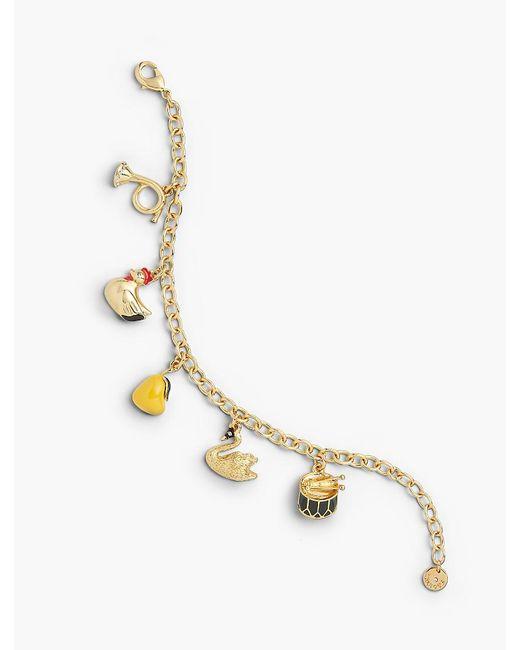 Talbots - Metallic Holiday Charm Bracelet - Lyst