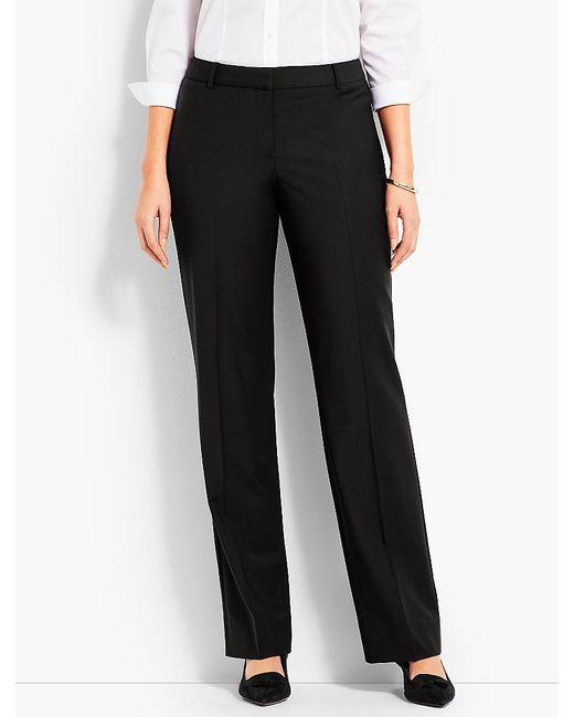 Talbots - Black Seasonless Wool Barely Boot Pant - Curvy Fit - Lyst