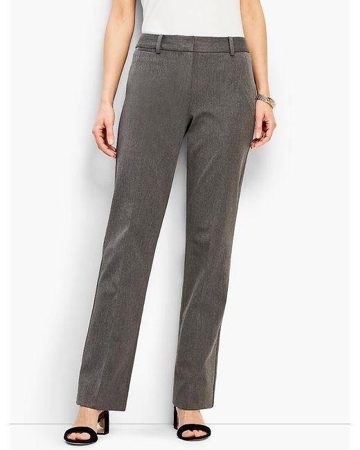 Talbots - Gray Refined Bi-stretch Windsor Pant - Lyst