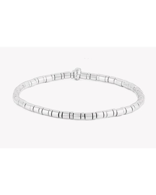 Tateossian | Metallic Bamboo Silver Bracelet for Men | Lyst