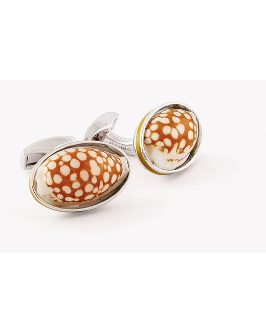 Tateossian Limited Edition Shell Cuff Links G3wHTy