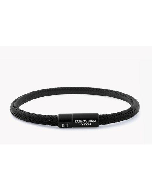Tateossian   Black Rt Soho Bracelet for Men   Lyst