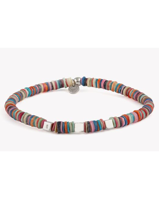 Tateossian | Purple Seychelles Beaded Bracelet for Men | Lyst