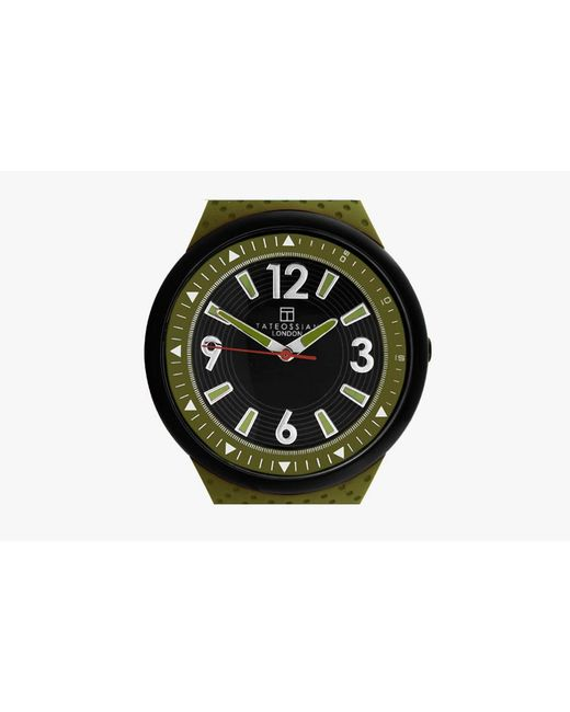 Tateossian | Green Racing Time Watch for Men | Lyst