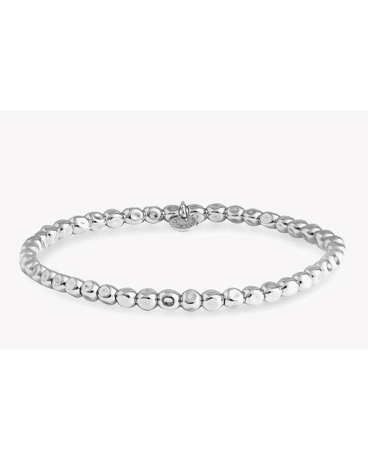 Tateossian | Metallic Small Silver Cube Bracelet for Men | Lyst