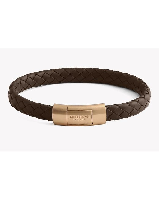 Tateossian | Brown Gomma Cobra Bracelet | Lyst