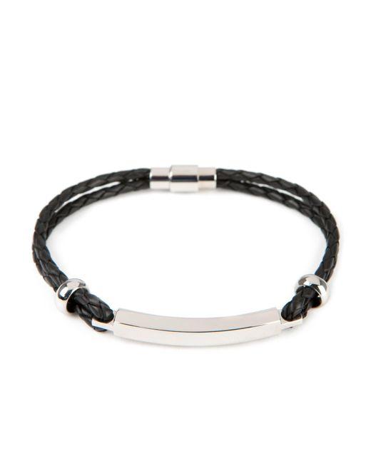 Ted Baker   Black Bar Detail Bracelet   Lyst