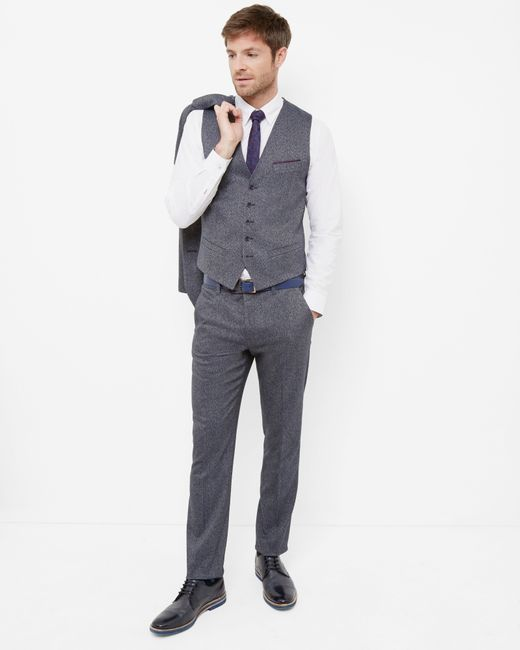 Ted Baker   Blue Cerstro Tailored Trousers for Men   Lyst