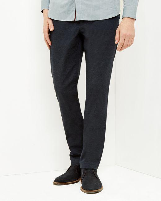 Ted Baker | Blue Seton Five Pocket Trousers for Men | Lyst