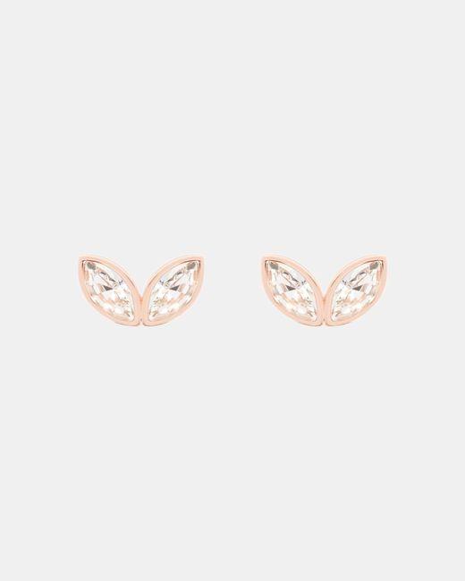 Ted Baker   Multicolor Geometric Bee Swarovski Earrings   Lyst