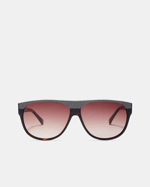 Ted Baker - Brown Tortoiseshell Sunglasses for Men - Lyst