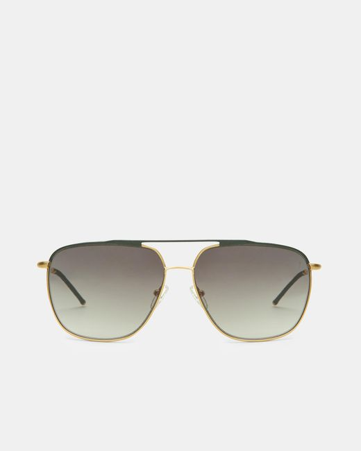 Ted Baker | Green Square Sunglasses for Men | Lyst