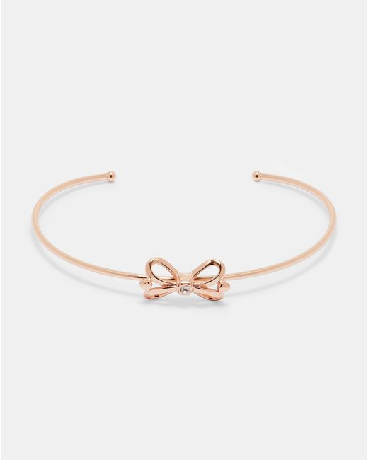 Ted Baker - Multicolor Bow Detail Cuff - Lyst