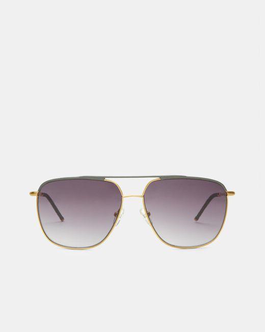 Ted Baker - Gray Square Sunglasses for Men - Lyst