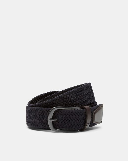 Ted Baker - Blue Woven Elastic Belt for Men - Lyst