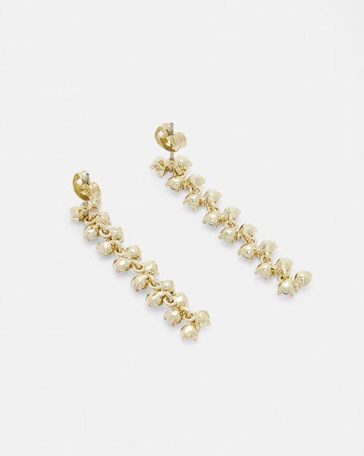 Ted Baker - Green Princess Sparkle Drop Earrings - Lyst