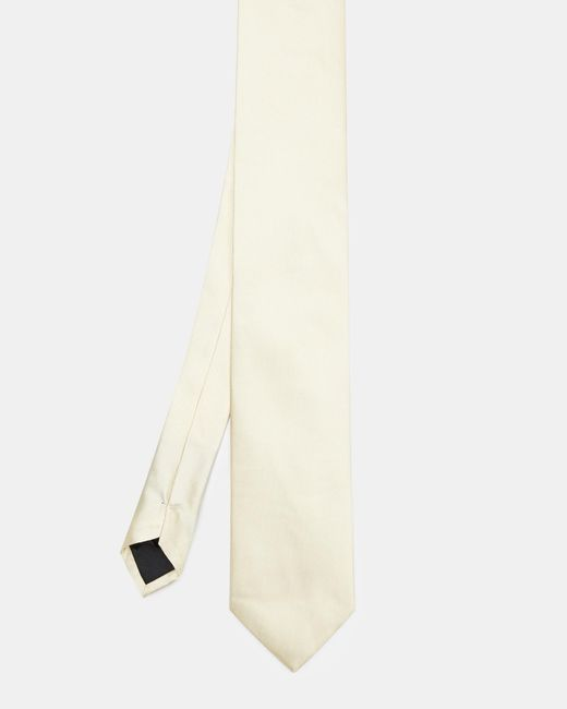 Ted Baker - Yellow Silk Tie for Men - Lyst