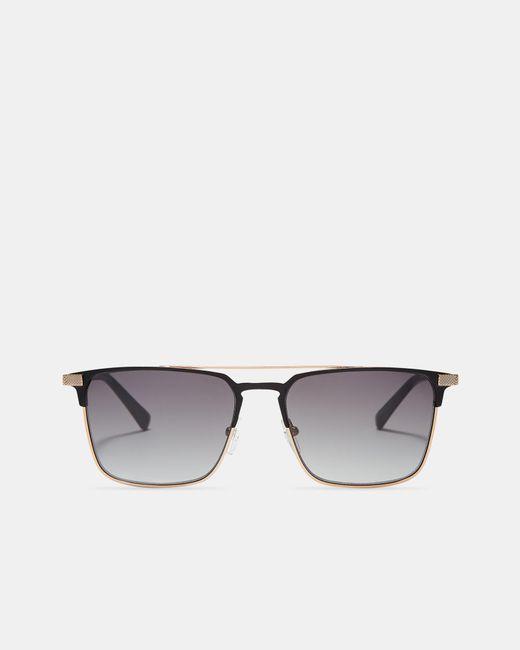 Ted Baker - Black Metal Sunglasses for Men - Lyst