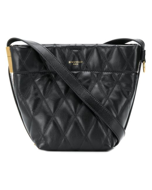 9b8e81244e Lyst - Givenchy Gv Bucket Mini Leather Bag in Black - Save 22%