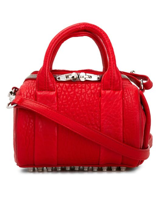 Alexander Wang | Red Mini Rockie Bag With Silver Hardware | Lyst