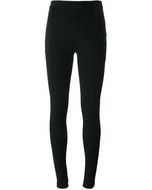 Givenchy | Black - Embroidered Star Leggings - Women - Polyamide/spandex/elastane/viscose - 42 | Lyst
