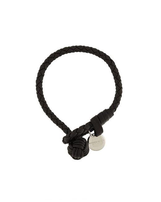 Bottega Veneta | Brown 'intrecciato' Bracelet for Men | Lyst