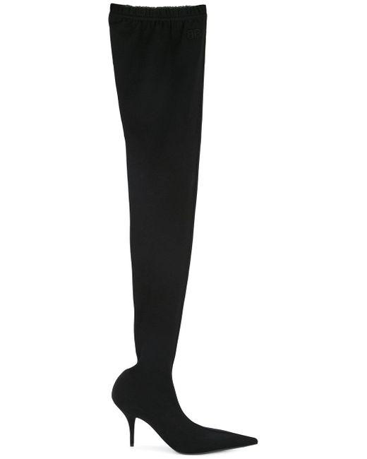 Balenciaga - Black Boots - Lyst