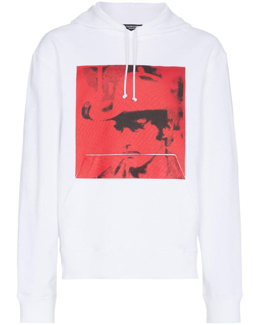 CALVIN KLEIN 205W39NYC - White X Andy Warhol Foundation Dennis Hopper Hoodie for Men - Lyst