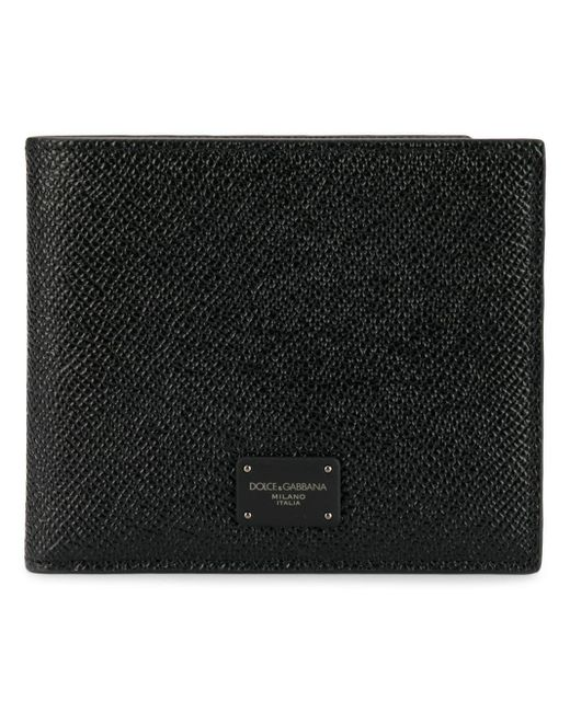 Dolce & Gabbana Black Leather Wallet for men