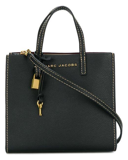 a98512aa3367 Marc Jacobs - Black Mini Grind Shoulder Bag - Lyst ...