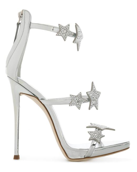 Giuseppe Zanotti Embellished star sandals daGCQ2Ef