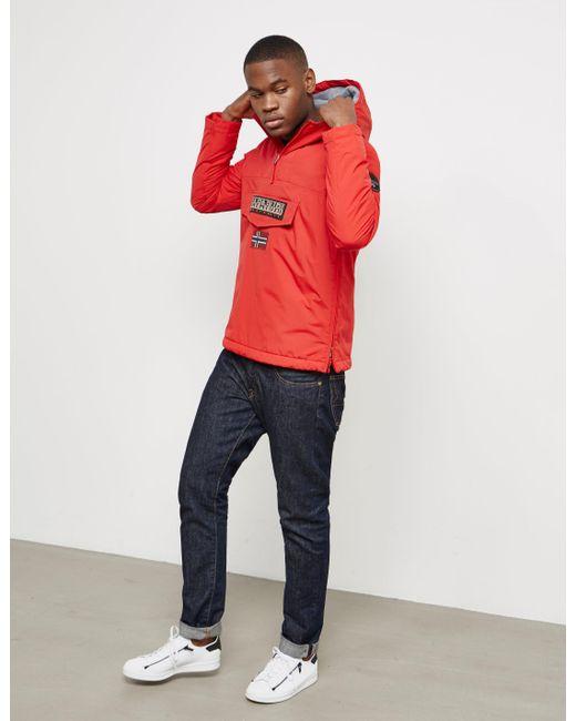 Napapijri - Mens Rainforest Winter Padded Jacket Red for Men - Lyst