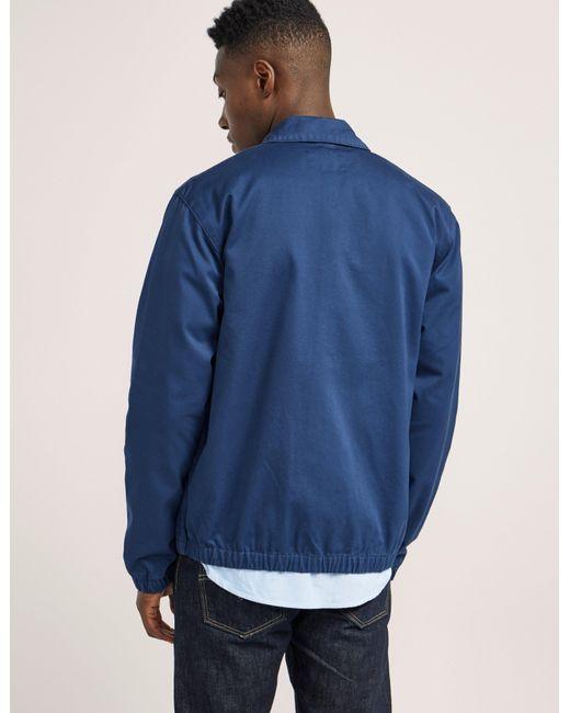 Carhartt Light Work Jacket: Carhartt Wip Lightweight Madison Jacket In Blue For Men