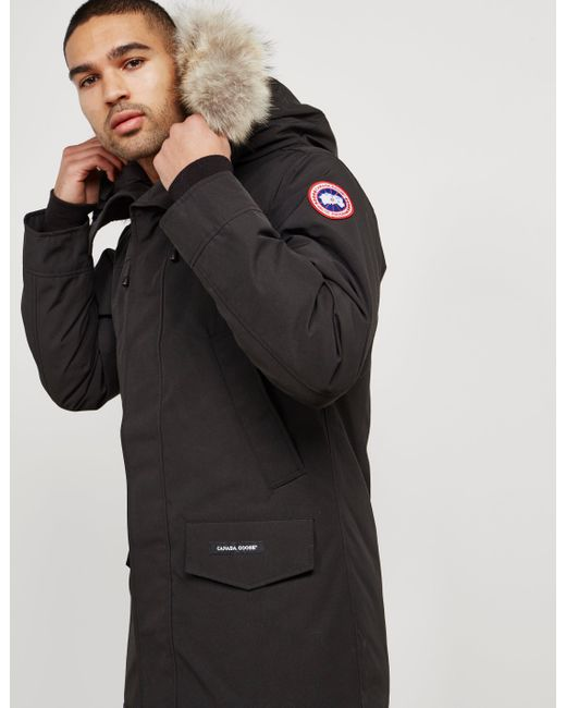 canada goose black jacket mens