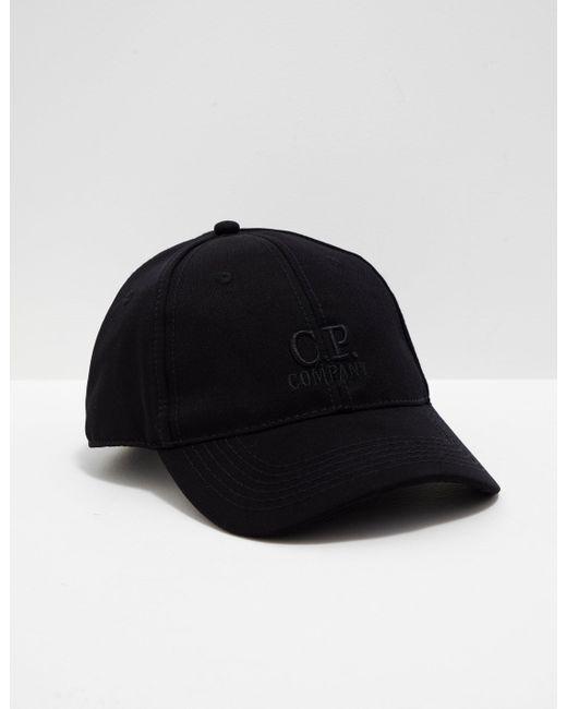 b70a4dd621b Lyst - C P Company Softshell Cap Black in Black for Men