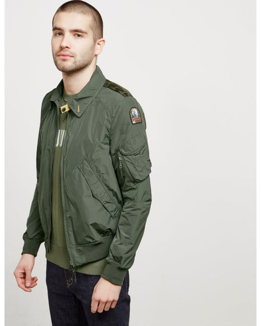 Parajumpers - Mens Brigadier Bomber Jacket Green for Men - Lyst ...
