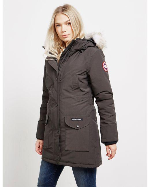 8044a59b0b2 Canada Goose - Gray Trillium Padded Parka Jacket Grey - Lyst ...