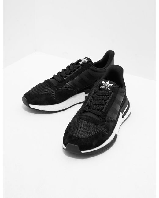 newest 66fe1 f6908 Adidas Originals - Zx 500 Rm Black for Men - Lyst ...