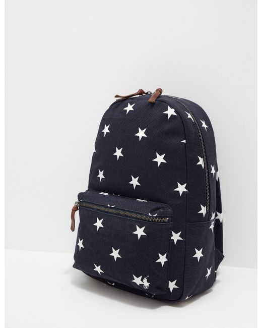 Polo Ralph Lauren Mens Stars Backpack Online Exclusive Navy Blue For Men Lyst