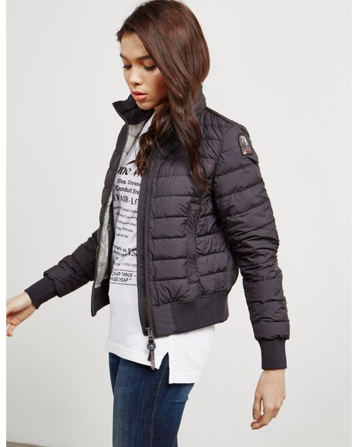 Parajumpers - Womens Amy Bomber Jacket Black - Lyst ...