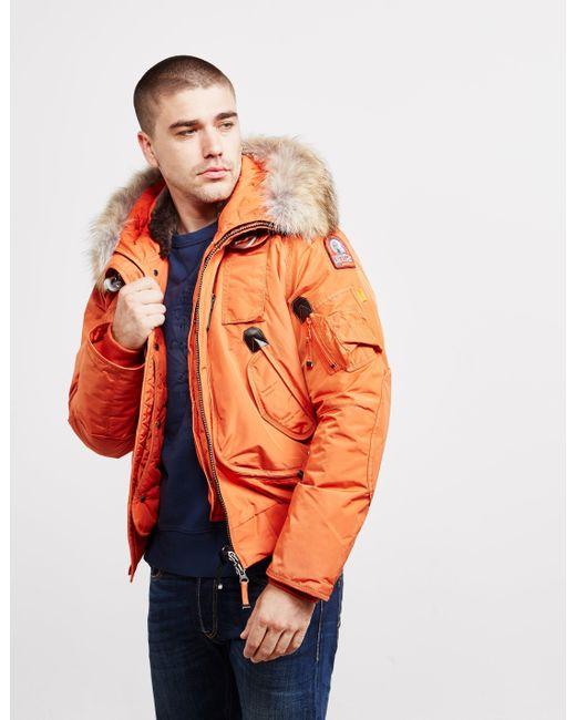 Parajumpers - Mens Gobi Bomber Jacket Orange for Men - Lyst ...
