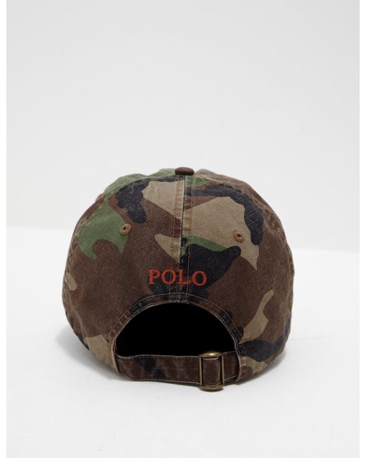 ed1512af83a13 Polo Ralph Lauren Classic Cap Green in Green for Men - Lyst