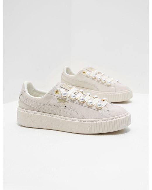 Puma Suede Platform Bling Damen Sneaker: : Schuhe