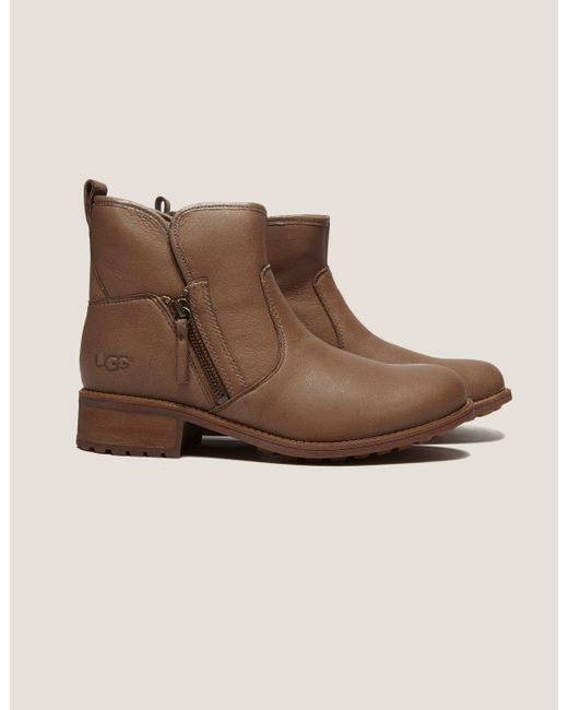Ugg | Brown Lavelle Short Boot | Lyst