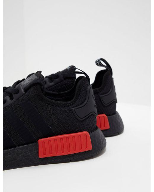 ... Adidas Originals - Mens Nmd R1 Ripstop Black for Men - Lyst ... a4d1f53ad