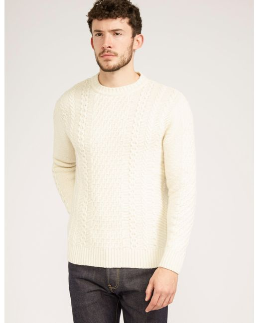 Edwin - Mens United Knit - Online Exclusive White for Men - Lyst