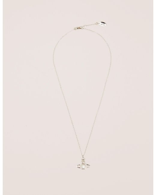 Vivienne Westwood - Metallic Womens Nora Necklace Silver - Lyst