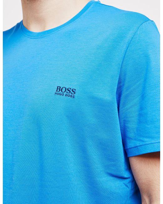 ffa993786 Lyst - BOSS Mens Core Short Sleeve T-shirt Blue in Blue for Men