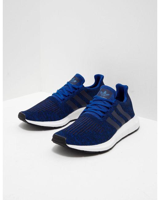 lyst adidas originali mens swift run blue in blu per gli uomini.