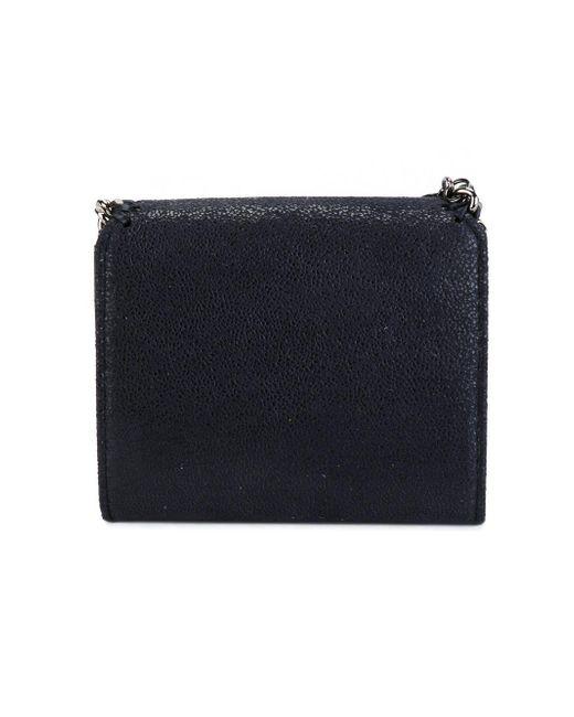 ... Stella McCartney - Blue Mini Portafoglio `falabella` - Lyst 2698a060b24